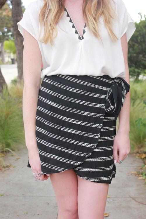 Lexi Wrap Skirt