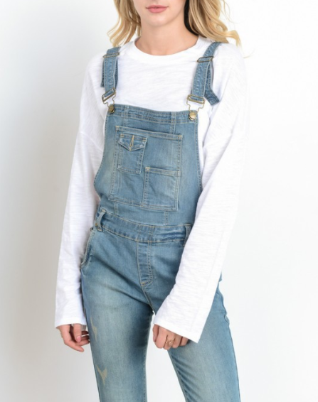 Denim Pant Overall