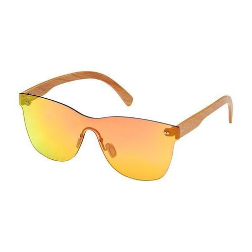 Delamar Red Beach Wood Sunglass