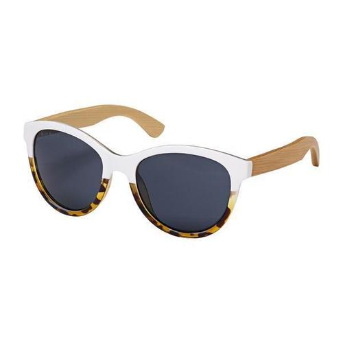 August Polaraized Bamboo Sunglass