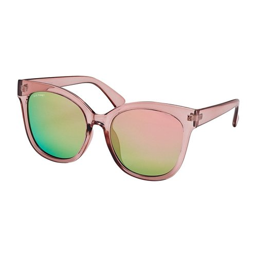 Rosa Pink Mirror Polarized Sunglass