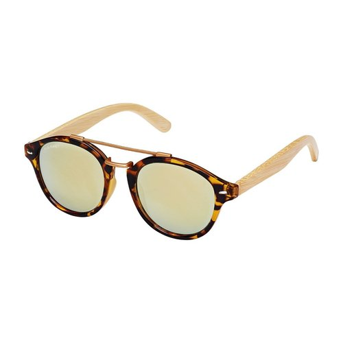 Atlas Gold Mirror Bamboo Sunglass