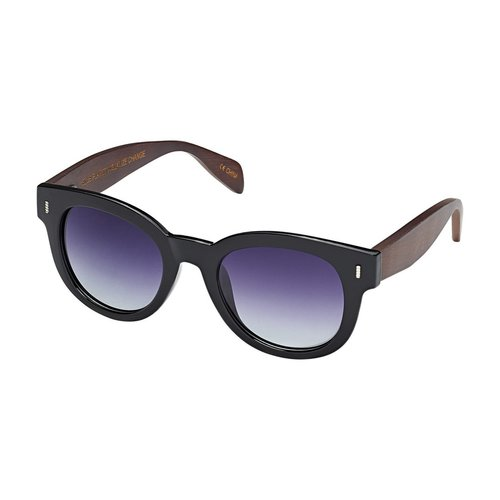 Clarita Black Polarized Sunglass
