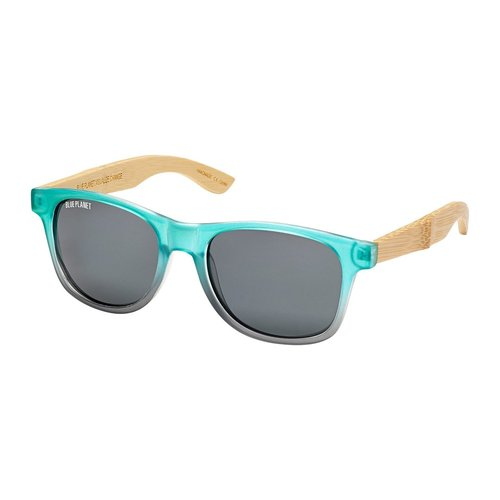Pacific Polarized Smoke Bamboo Sunglass