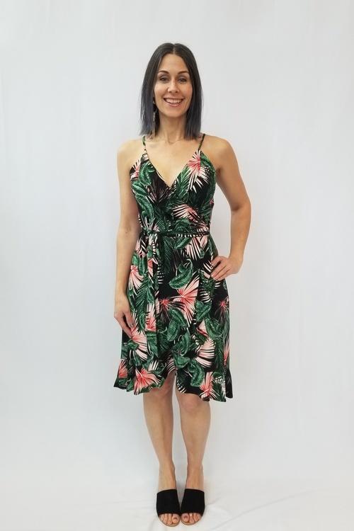 Arlington Tropical Print Dress