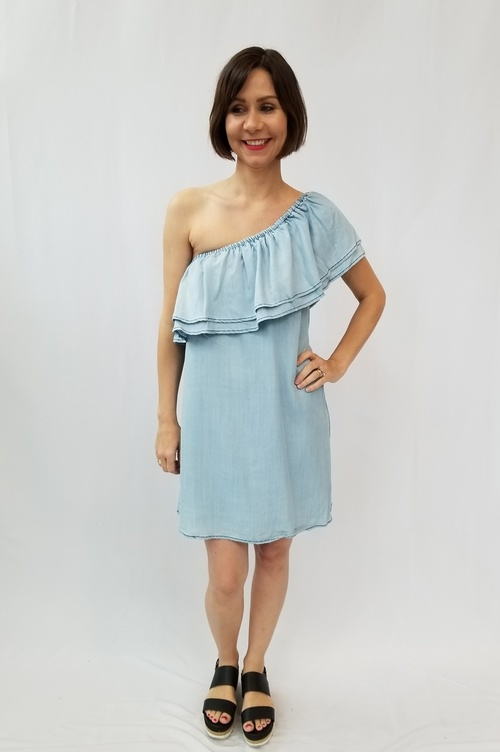 Isla Chambray Dress
