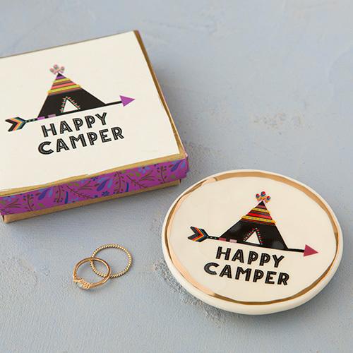 Happy Camper Teepee Monterey Trinket Dish