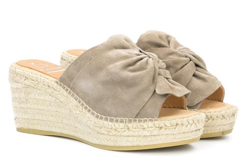 Wedge Heel Sandal Suede