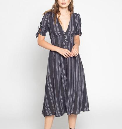 Maverick Button Down Dress