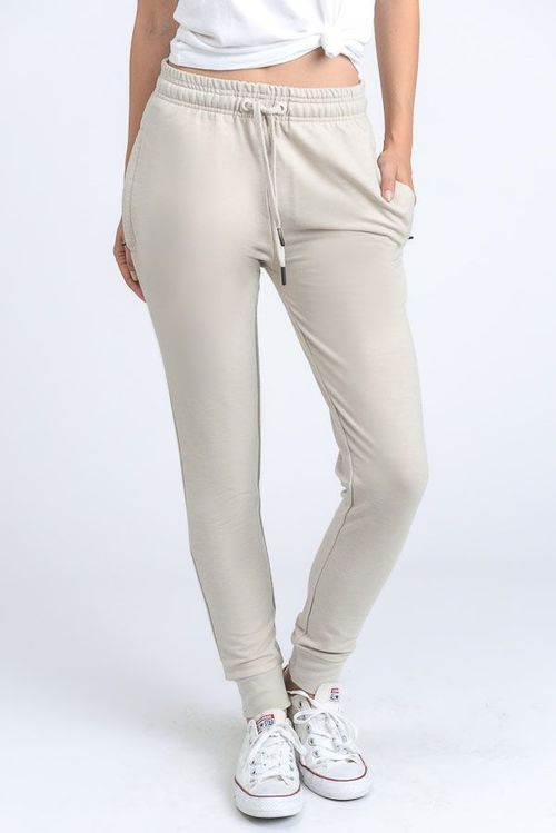 Draw String Skinny Joggers