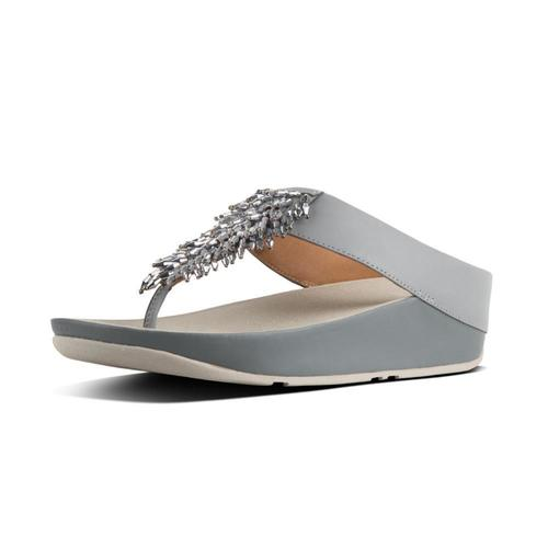 Fit Flop Rumba Metallic Silver