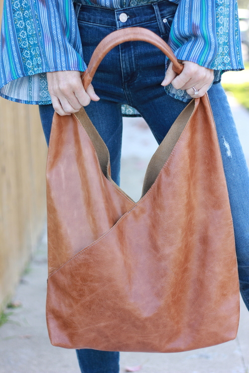Henri Lou Crisscross Handbag