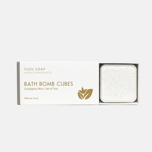 Bath Bomb Cubes - Eucalyptus Mint