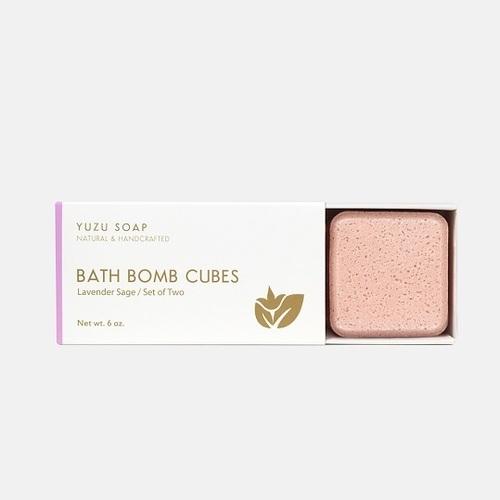 Bath Bomb Cubes - Lavender Sage