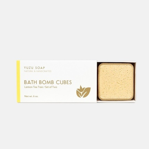 Bath Bomb Cubes - Lemon Tea Tree