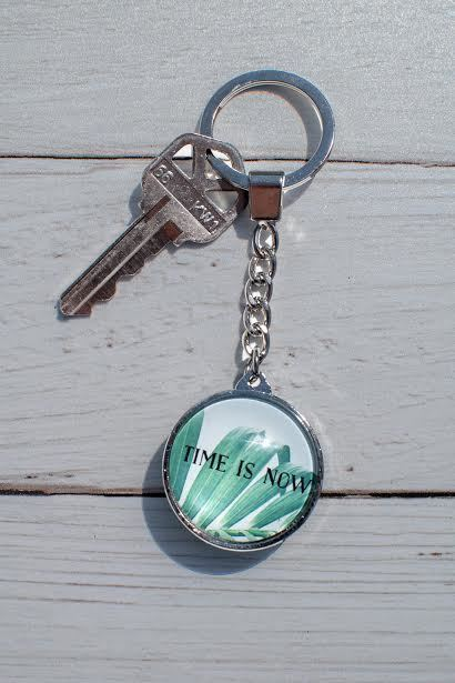 Time Is Now  Keychain
