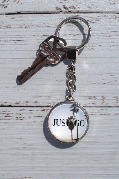 Just Go Keychain