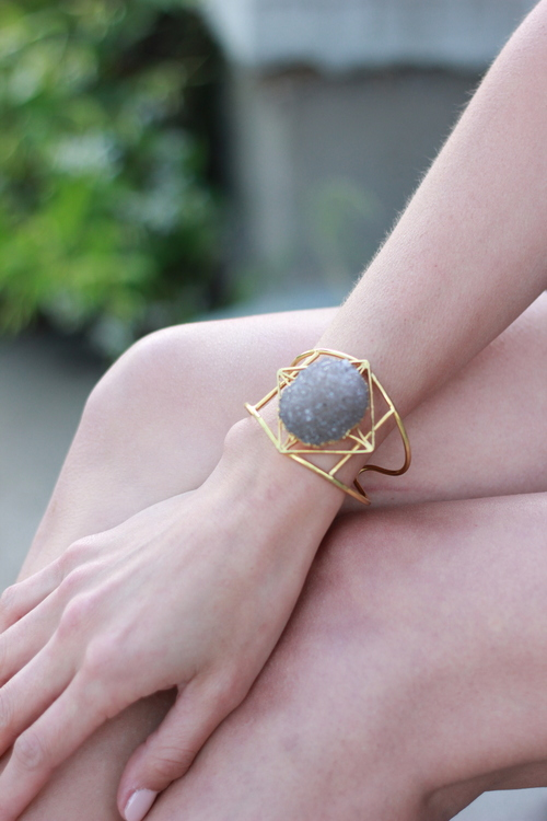Major Gemstone Cuff