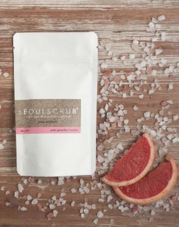 Himalayan Salt Mini Scrub - Pink Grapefruit Vanilla