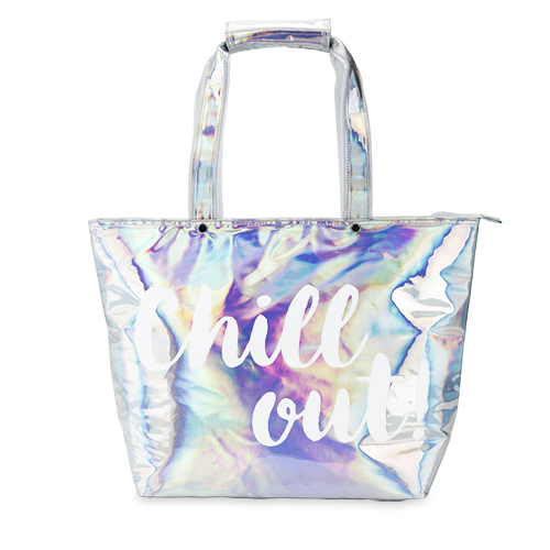 Chill Out Silver Cooler Bag