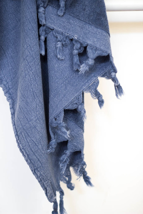 Kayra Terry Towel- Indigo
