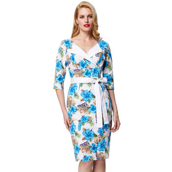 Leilani Floral Pencil Dress (2 Print options)