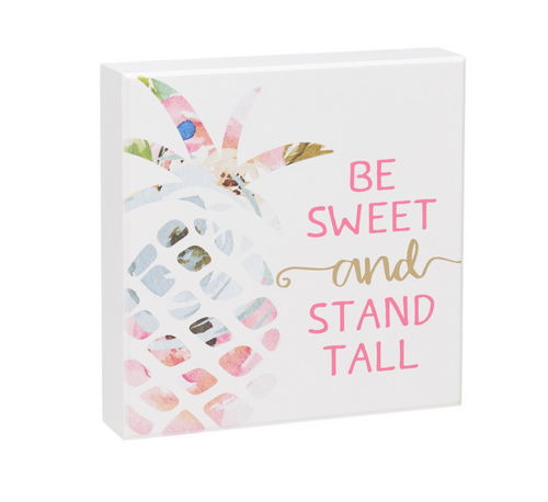 Be Sweet Box Sign
