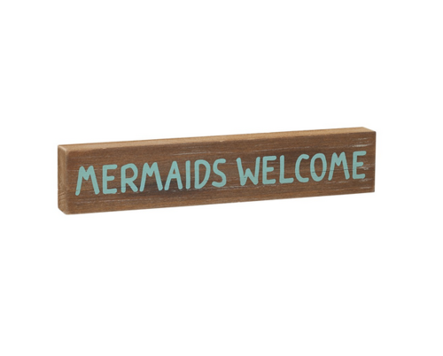 Mermaids Welcome Sitter