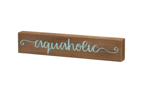 Aquaholic sitter