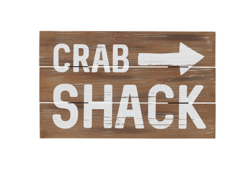 Crab Shack Sign