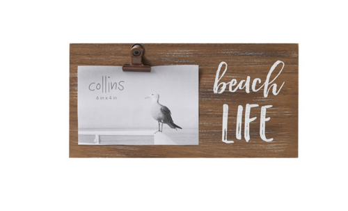 Beach Life Photo Frame