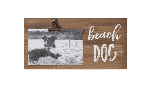 Beach Dog Photo Frame