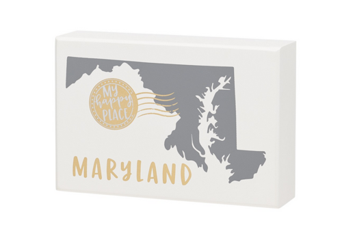 Maryland Box Sign