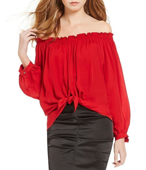 Rocky Off the Shoulder Top