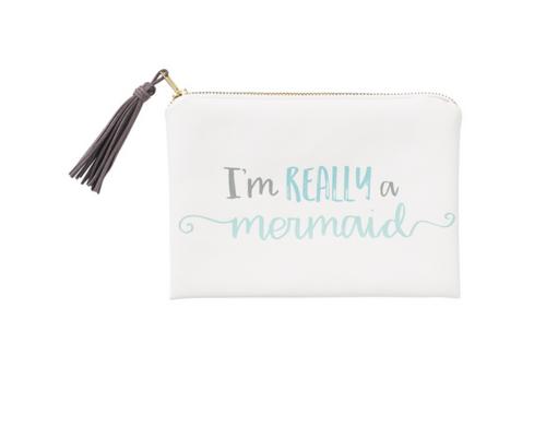Really a Mermaid Cosmetic Bag