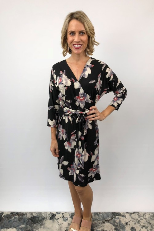 Christopher Printed Wrap Dress