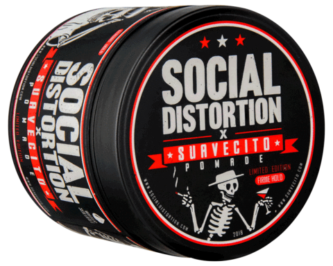 "Suavecito ""Social Distortion"" Edition Strong hold Pomade"