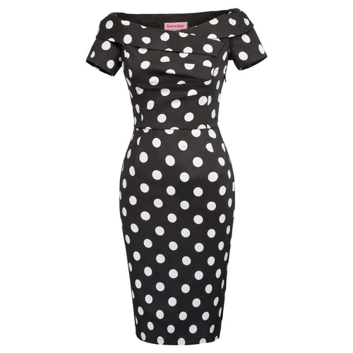 Selma Dress in Polka Dot