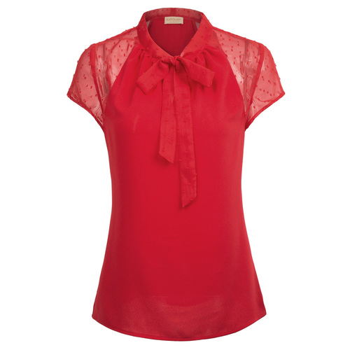 Marsha Top in Black or Red