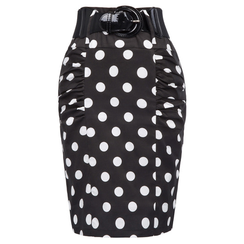 Vavavoom Skirt in Polka dot