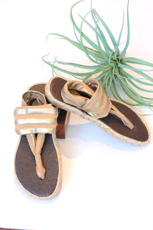 Ganika Metallic Sandal