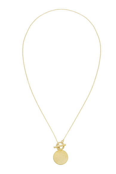 Penelope Toggle 16K Plated Necklace