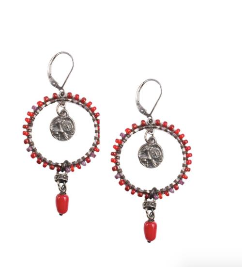 Sedona-Red Earrings
