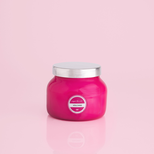 Pink Petite Volcano 8 oz Candle