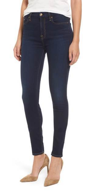 B(air) High Waist Skinny Tranquil Blue