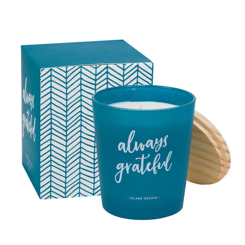 Always Grateful Island Orchid Candle