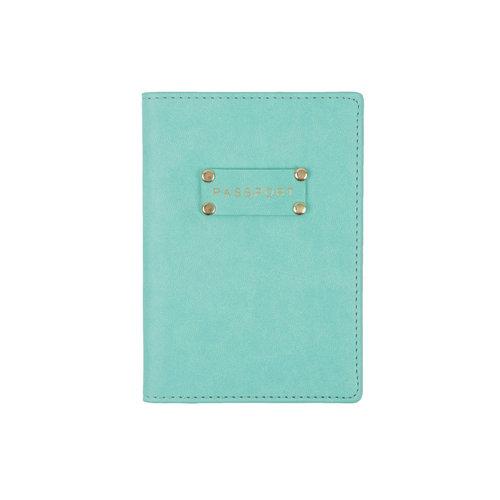 Passport Case Turquoise