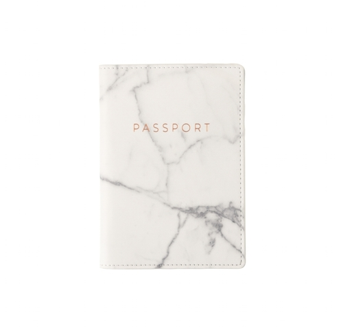 Passport Case Marble