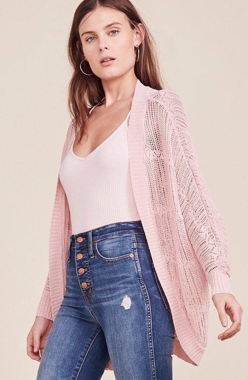 Valerie Pink Blossom Cardigan