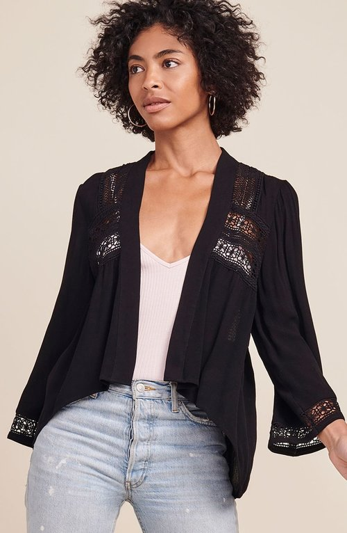 Layla Lace Black Jacket